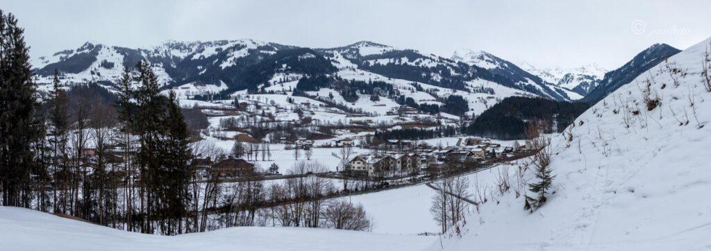 Panorama Alpen Kitzbühl