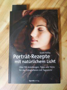 Buch Scott Kelby Porträt-Rezepte mit natürlichem Licht