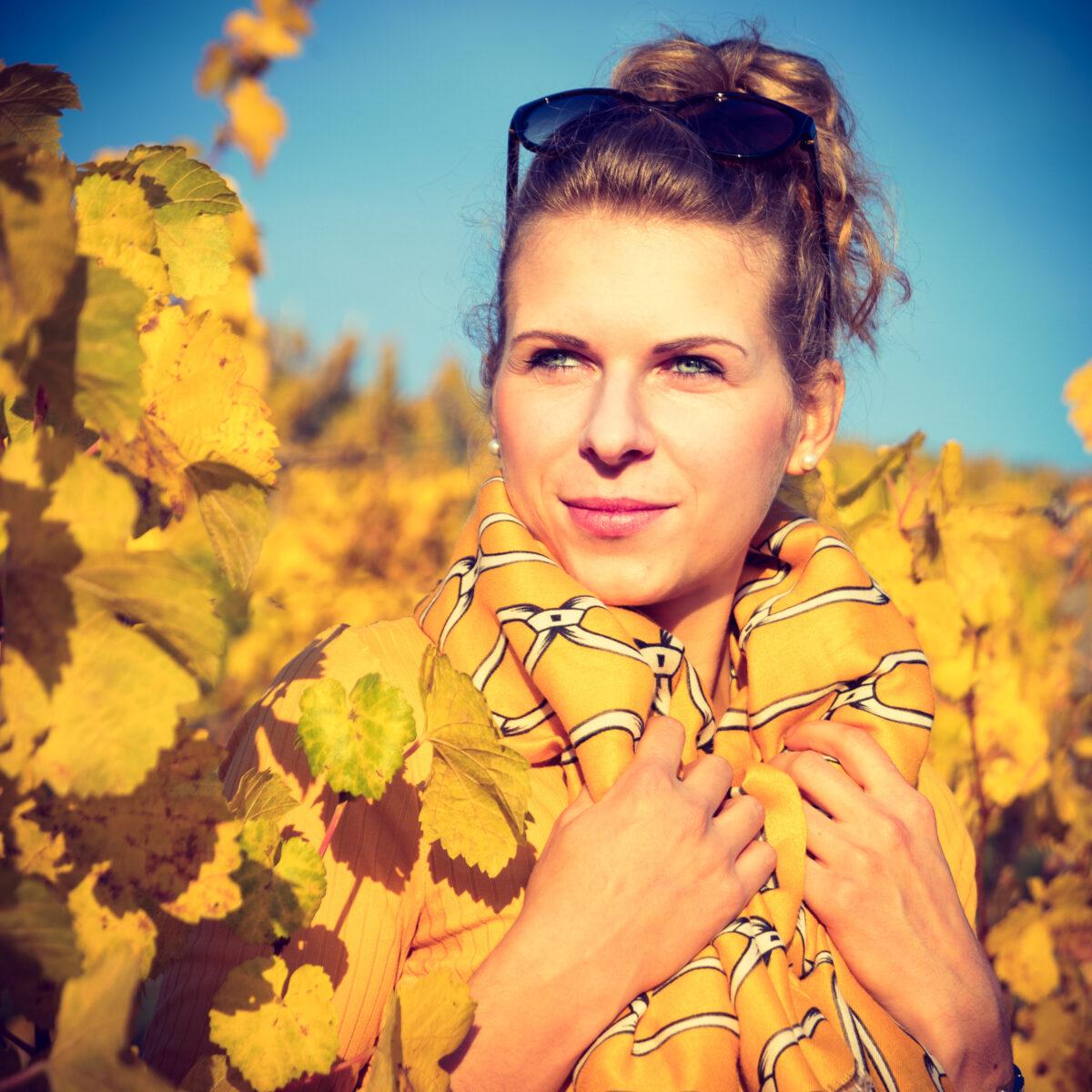 Fotoshooting mit Sophie im Herbst