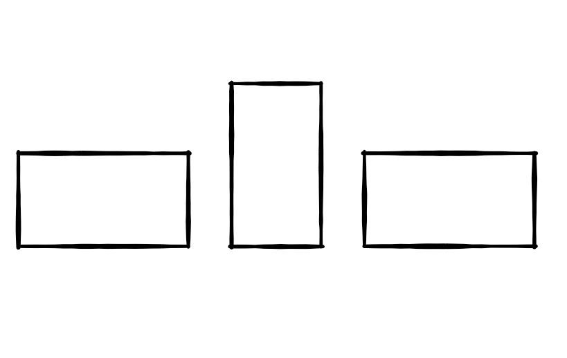 Kantenhängung Unterkante