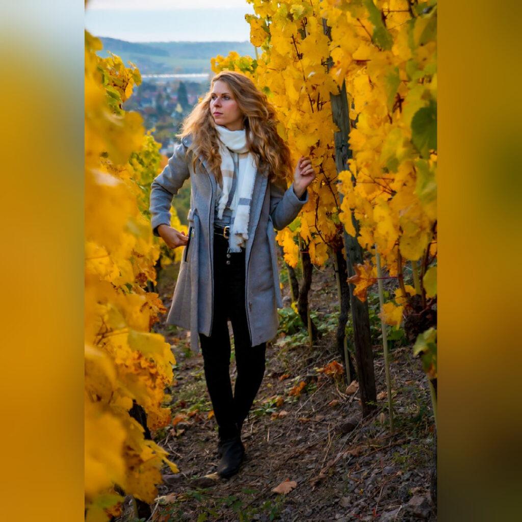 Wenn im Herbst die Blätter von den Bäumen stürzen ... 5