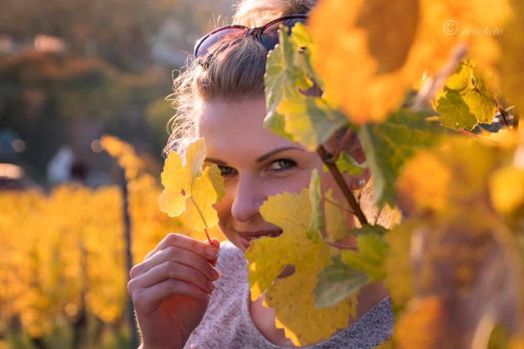 Wenn im Herbst die Blätter von den Bäumen stürzen ... 11