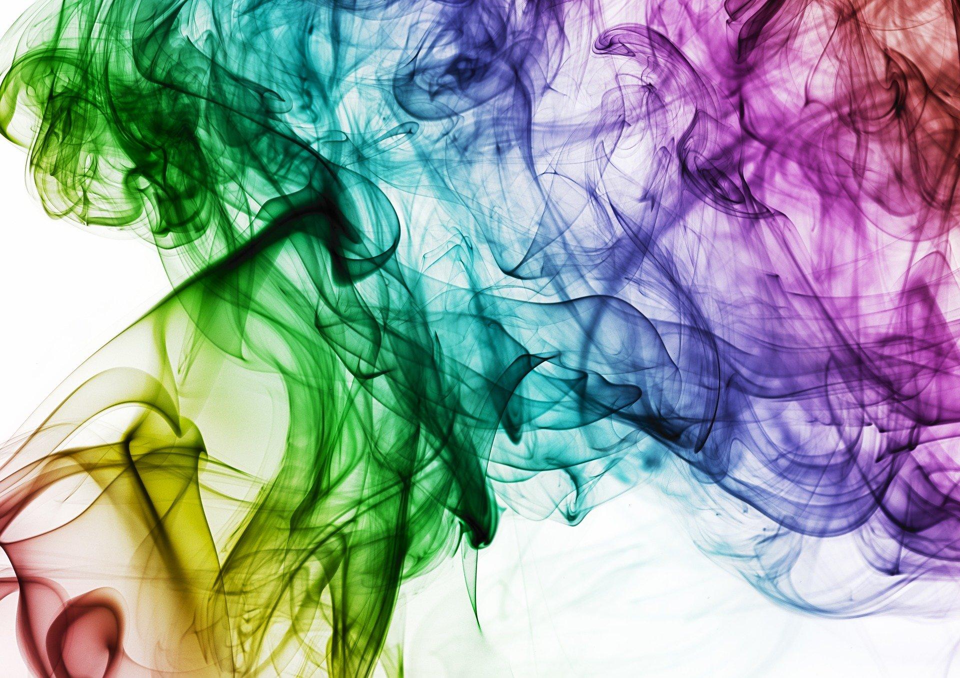 farbige Tinte