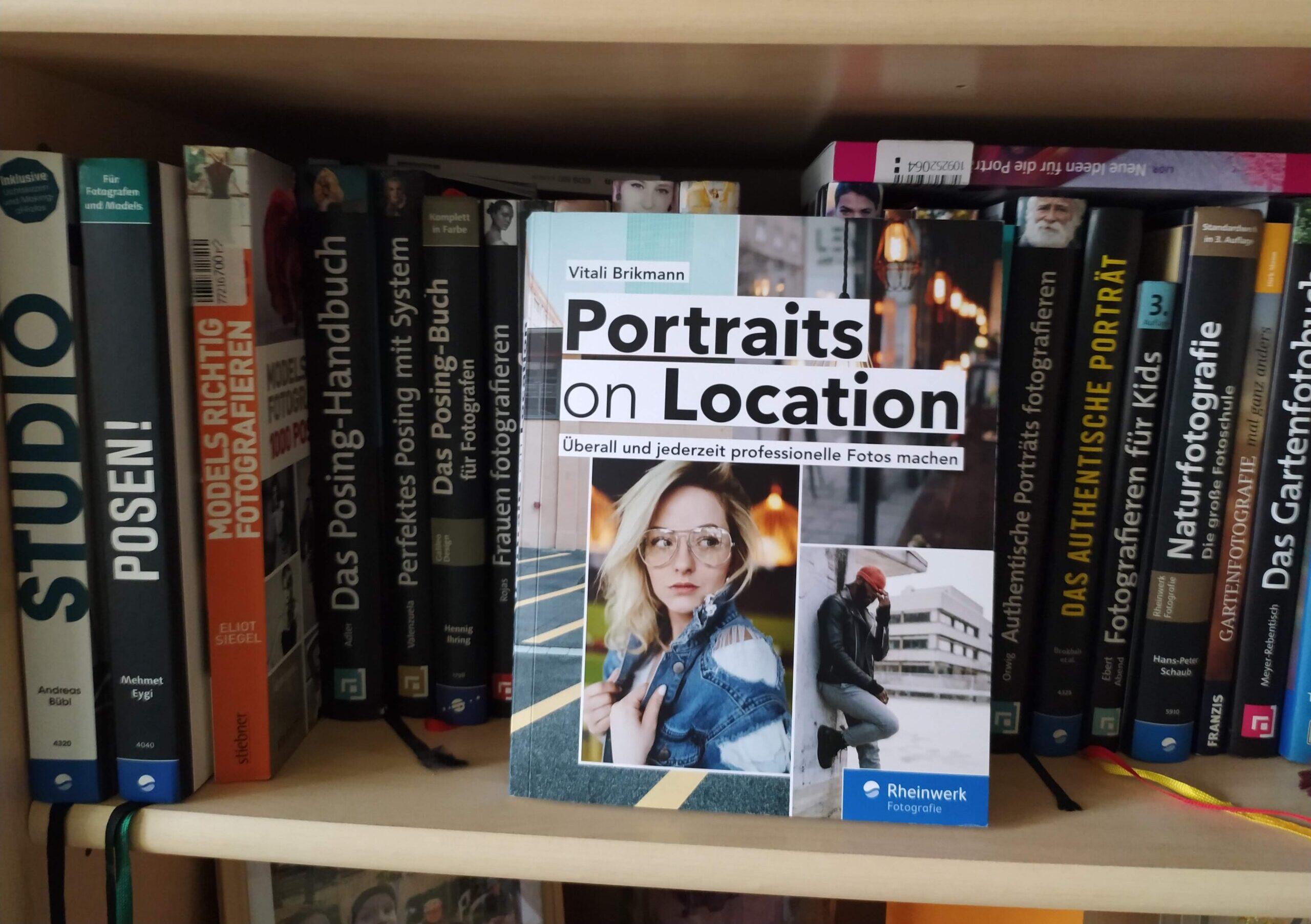 Buch Portraits on Location peacheto Fotografie